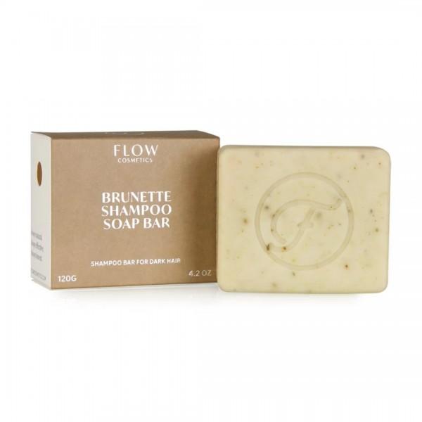 FLOW COSMETICS Brunette Shampoo Soap Bar 120g