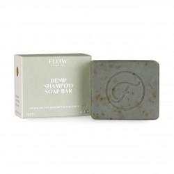 FLOW COSMETICS Hemp Shampoo Soap Bar 120g anti-pelliculaire
