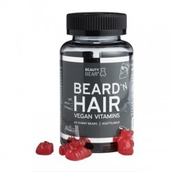 BEAUTY BEAR Beard'N Hair Vegan Vitamins