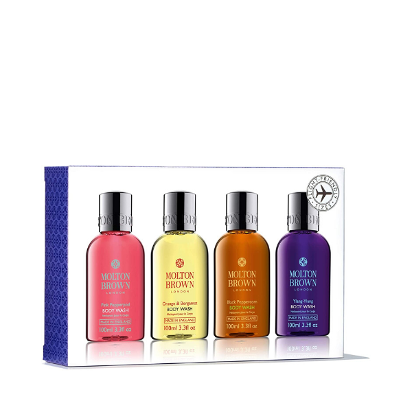 MOLTON BROWN The Bestsellers Travel Body Wash Set 4x100ml
