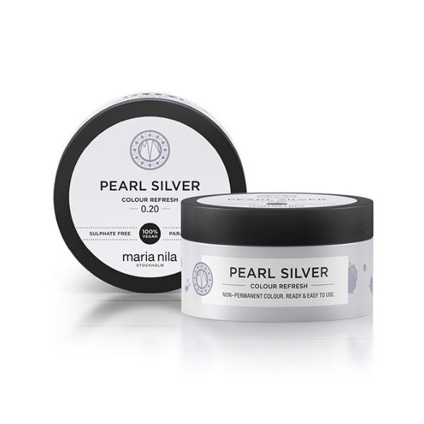 MARIA NILA Colour Refresh 100ml – Pearl Silver
