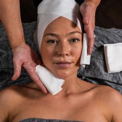 SCRUMMI Facial Towels – 100 Mini Serviettes Visage
