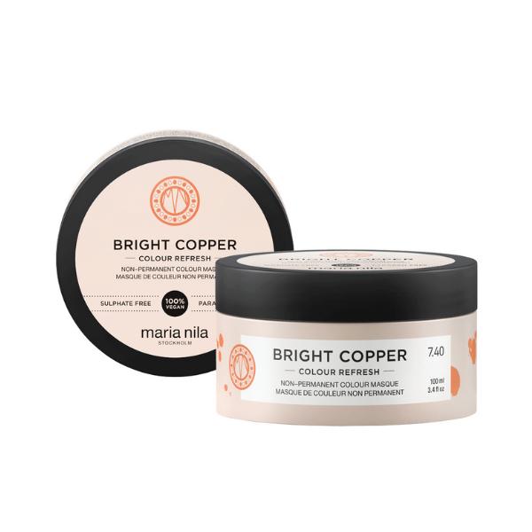 MARIA NILA Colour Refresh 100ml – Bright Copper