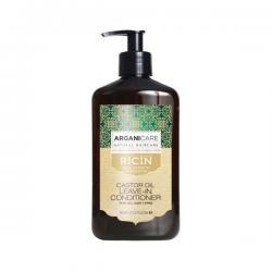 ARGANICARE  Soin Evolution sans rinçage à l'huile de Ricin pour les cheveux secs