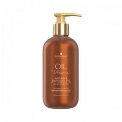 SCHWARZKOPF Oil Ultime Shampooing enrichi en huiles d'Argan et de Figue de Barbarie (cheveux épais)
