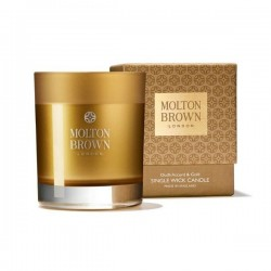 MOLTON BROWN Oudh Accord and Gold Single Wick Candle 180g