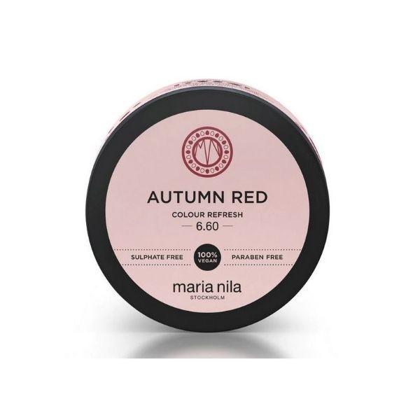 MARIA NILA Colour Refresh 100ml – Autumn Red