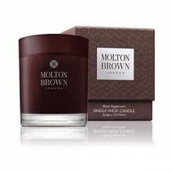 MOLTON BROWN Single Wick Candle Black Peppercorn