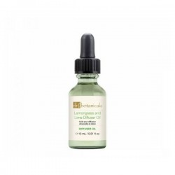 DR BOTANICALS Energising Lemongrass & Lime Diffuser Oil 15ml