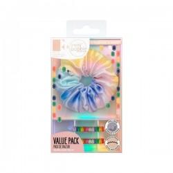 Invisibobble x Rosie Fortescue Set Rainbro Kit