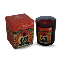 Green Tree Vajrayana Buddhist Tantra Scented Candle