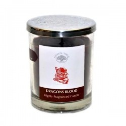 Green Tree Dragon's Blood Candle