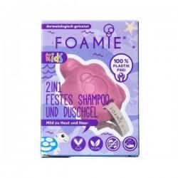 FOAMIE Kids 2in1 Shampoo & Wasverzorging Turtelly Cute