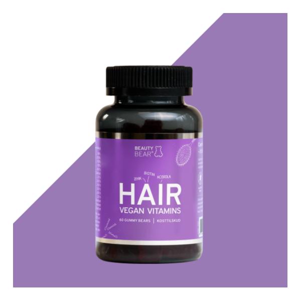 BEAUTY BEAR Hair Vegan Vitamins