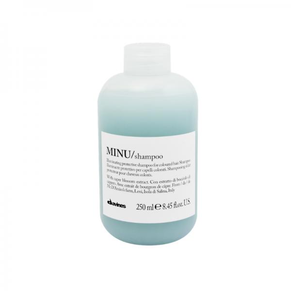 DAVINES MINU shampooing illuminateur protecteur pour cheveux colorés
