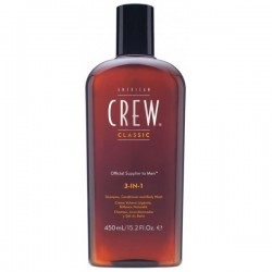 AMERICAN CREW Shampoing Conditionner 3-en-1 450ml