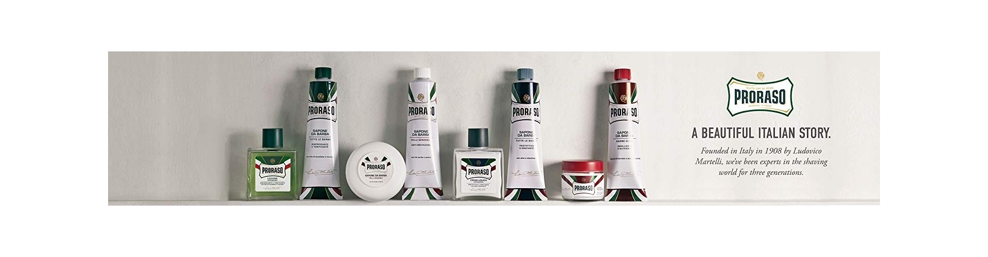 HAIRSHOP.lu #shoplocal - Proraso at the best price
