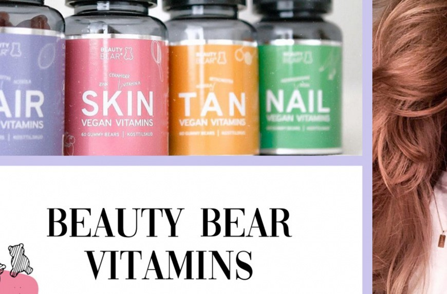 Beauty Bear Vitamins – les vitamines de beauté